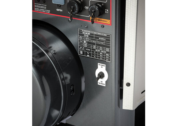 SAE-300 MP with Wireless Remote and textured stainless steel cover panels