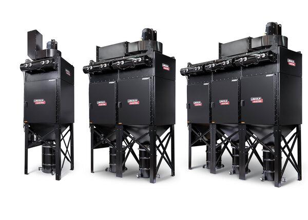 Prism 4, 8 and 12 Vertical Filter Banks