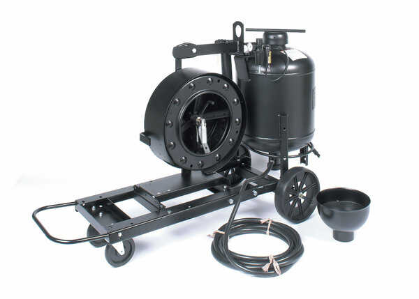 Wire Reel and Flux Tank Assembly