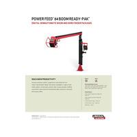 Power Feed 84 Boom Ready-Pak Spec Sheet