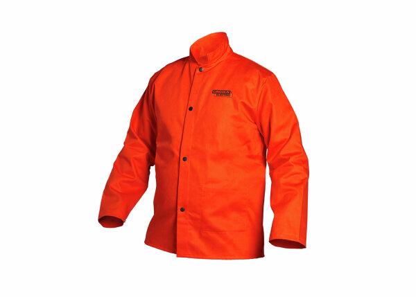 Traditional FR Cloth Welding Jacket - Orange