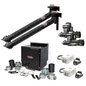 Prism Dual Arm Wall Mount with Mechanized Cleaning, MERV 16 Filter, SF2400 1 HP Fan; Telescopic 7 FT. with arc sensor lamp kit