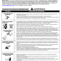 Safe Use Guide - Thermal Spray (Spanish)
