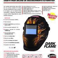 Careta para Soldar Dark Flame - Info. del Producto