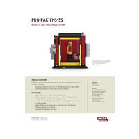 Pro-Pak FHS-SS Standard Robotic Welding Cell Product Info