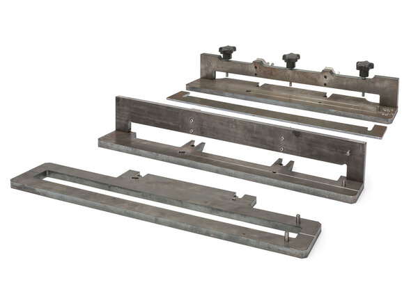 Set of three 18 fixtures for REALWELD Advanced Trainer