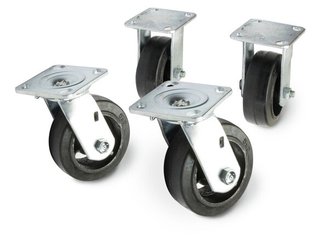 Caster Kit, Wheels for Inverter Racks