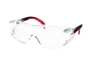 Clear Cover Alls Safety Glasses