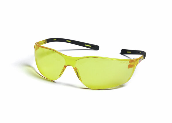 Axilite Amber Safety Glasses