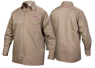 Khaki FR Welding Shirt