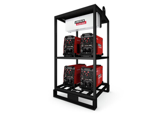 4-Pack Rack, FLEXTEC 500 Multi-Process Welders
