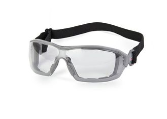 360 Padded Clear Anti-Fog Safety Glasses