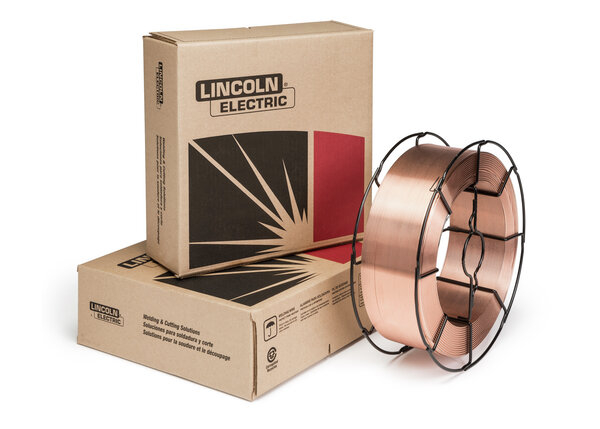 UltraCore 360 copper coated, seamless, flux-cored wire for FCAW-GS welding