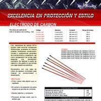 Electrodo de Carbon - Info. del Producto