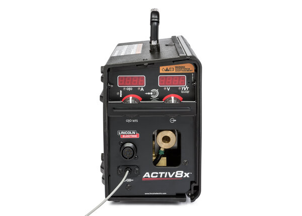 Activ8X wire feeder with CrossLinc Technology