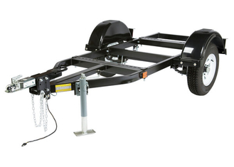Medium Two-Wheel Road Trailer with Duo-Hitch