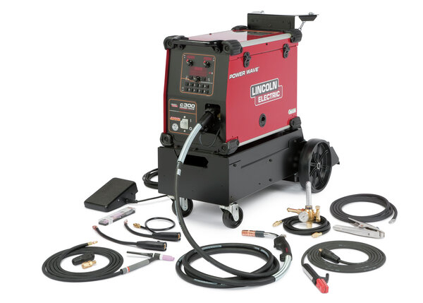 Power Wave C300 Ready-Pak, Multi-process Education Package
