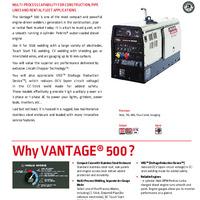 Vantage 500 Overview