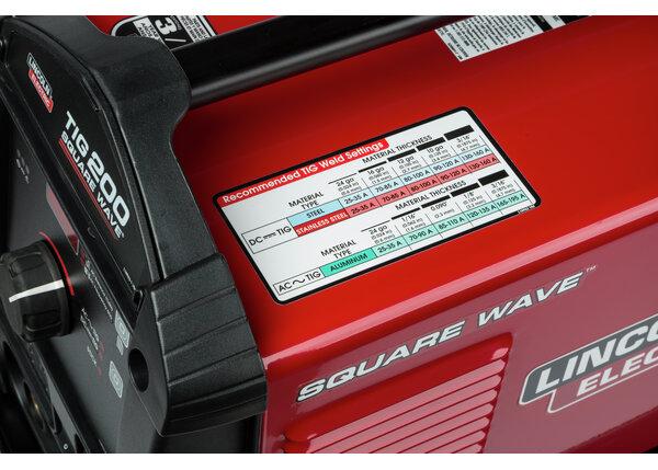 Square Wave TIG 200 Compact Inverter TIG Welder