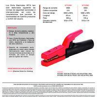 Portaelectrodo Uso Industrial  Info. del Producto