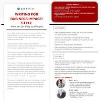 Writing for Business Impact Style Overview.pdf