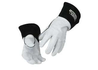 Red Line Leather TIG Welding Gloves