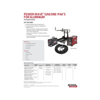 Power Wave S350 One-Paks For Aluminum Product Brief