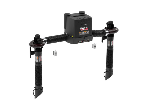 PRISM WALL MOUNT DUAL ARM TELESCOPIC 5 FT FUME EXTRACTION ARM ONE-PAK PKG
