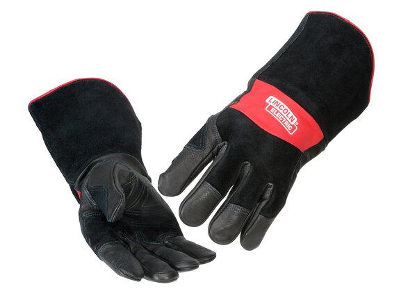 Red Line Premium Leather MIG Stick Welding Gloves