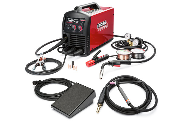 Power MIG 140MP Multi-Process Welder TIG One-Pak