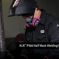 XLR P100 Half Mask Welding Respirator Brochure