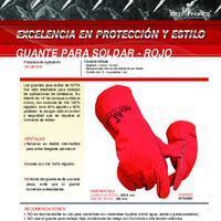 Guantes para Soldar  Info. del Producto