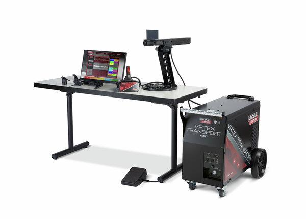 VRTEX Transport Virtual Reality Welding Trainer