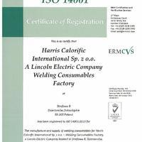 ISO14001 Harris Welding Consumables