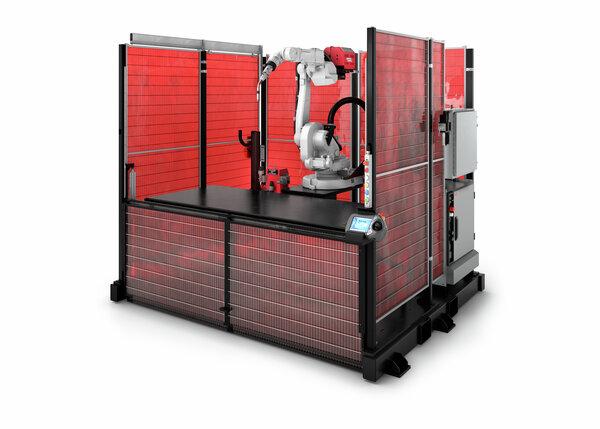 Fab-Pak FT SS Robotic Welding Cell (ABB arm)
