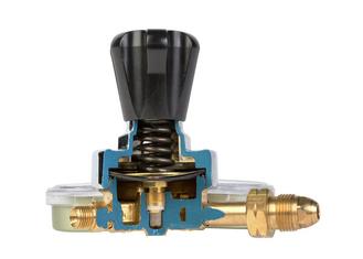 Teaching Aid Cutaway Harris Gas Regulator