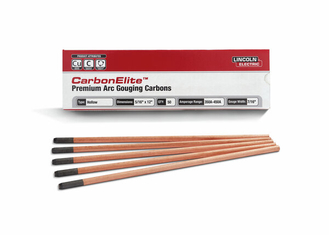 CarbonElite Hollow Gouging Electrodes - 5/16 in. x 12 in.