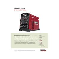 Flextec 500X Product Info