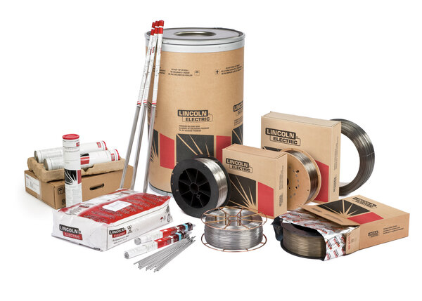 Lincoln Electric's Stainless Consumables Family