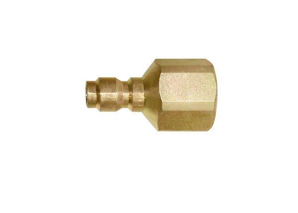 Self-threading screw-on style conduit connector