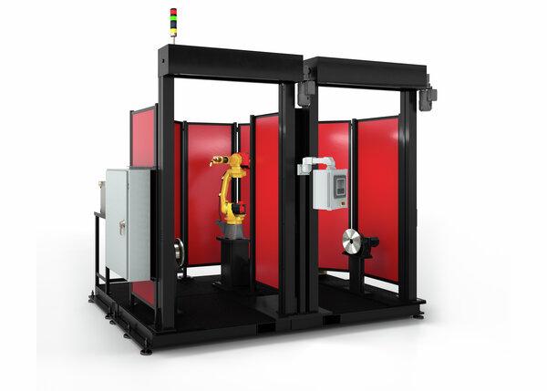 Pro-Pak S2S Robotic Welding Cell