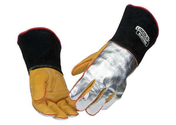 Red Line Heat Resistant Welding Gloves