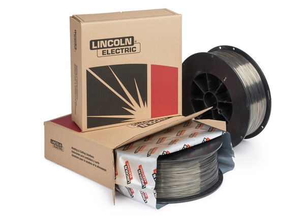 Ultracore stainless, flux-cored wire, plastic spool