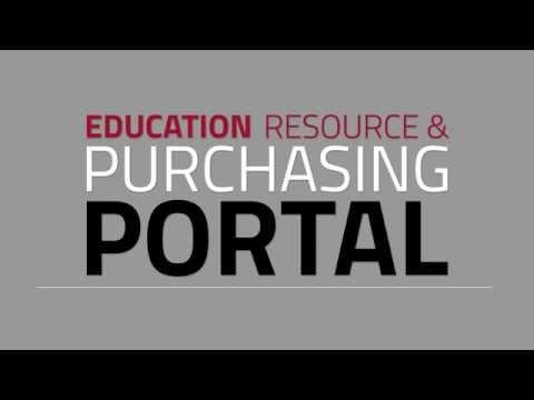 Education Resource & Purchasing Portal