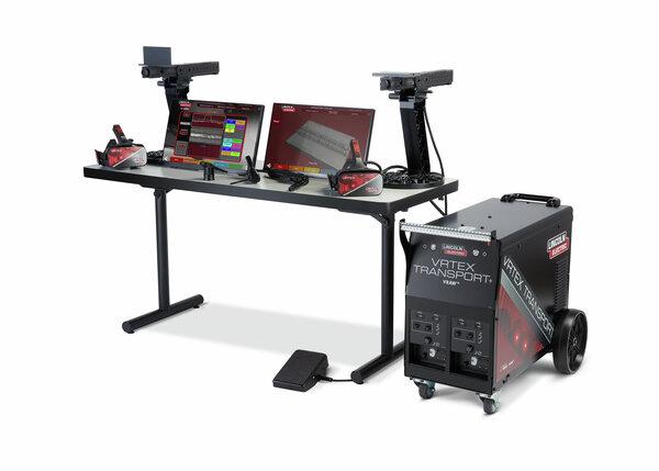 VRTEX Transport+ Virtual Reality Welding Trainer